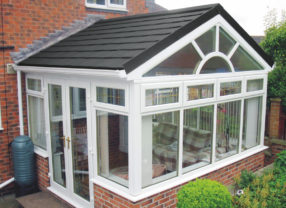 Conservatory Roof tiling systems